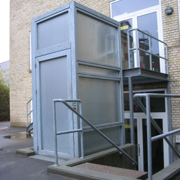 Rack lift for freight- gallery 5 | HYDRO-CON Elevator A/S